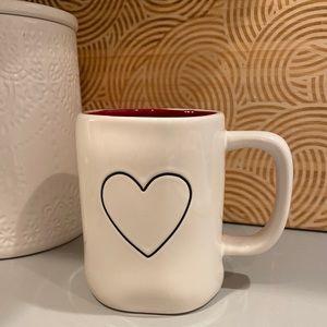 ❤️NWOT Rae Dunn Heart Mug